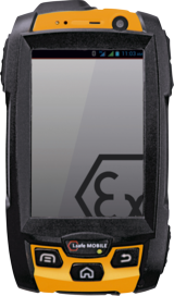 smartphone ATEX iSAFE INNOVATION 2.0