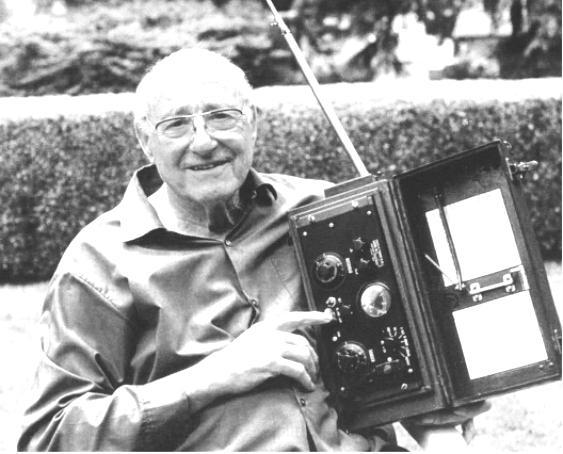 walkie-talkie 1940 SRC-300