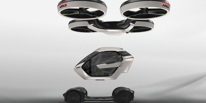 Airbus Pop Up, l'utilitaria-drone del futuro!