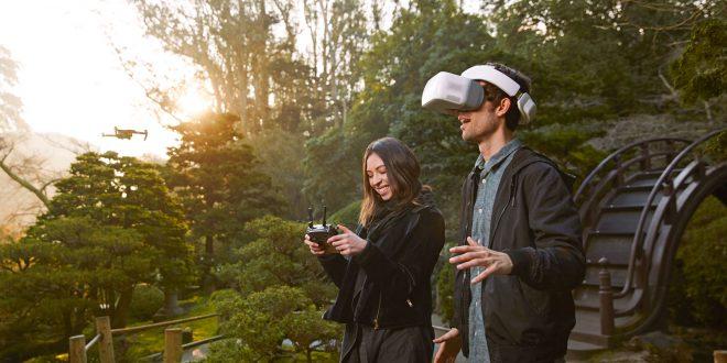 DJI Goggles, i primi video occhiali per pilotare un drone!